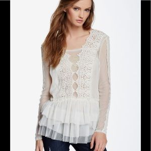 FP Midnight Memories Lace blouse